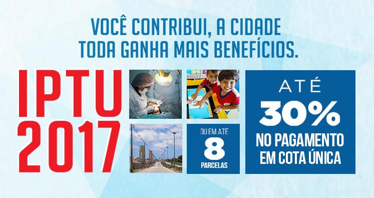 Contribuinte de São Gonçalo tem 30% desconto no IPTU 2017 com pagamento em cota única