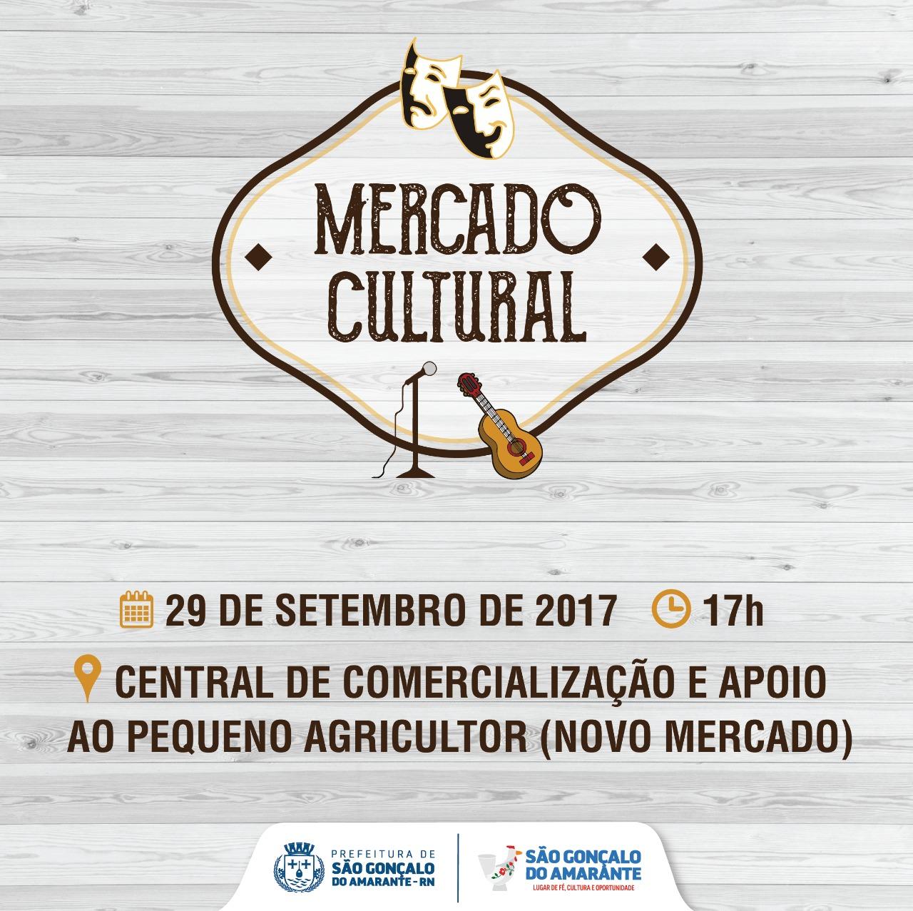 Sexta tem Mercado Cultural com espetáculos regionais