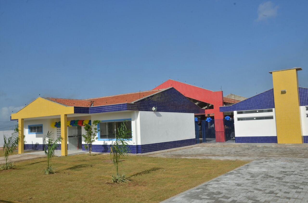 Mais uma obra: prefeito Paulinho inaugura Centro Municipal de Ensino Infantil em São Gonçalo