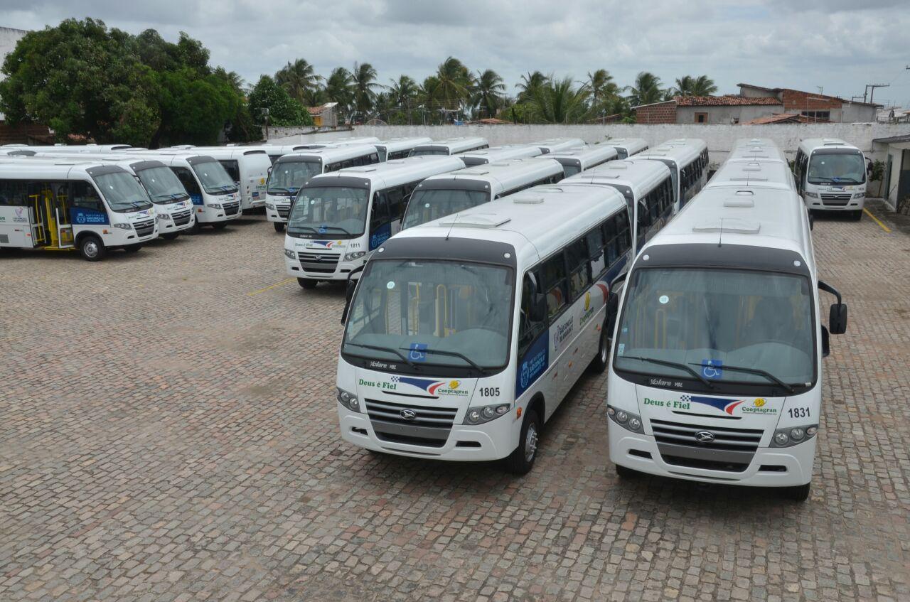 Primeiro município da Grande Natal a ter transporte licitado, São Gonçalo recebe nova frota nesta terça