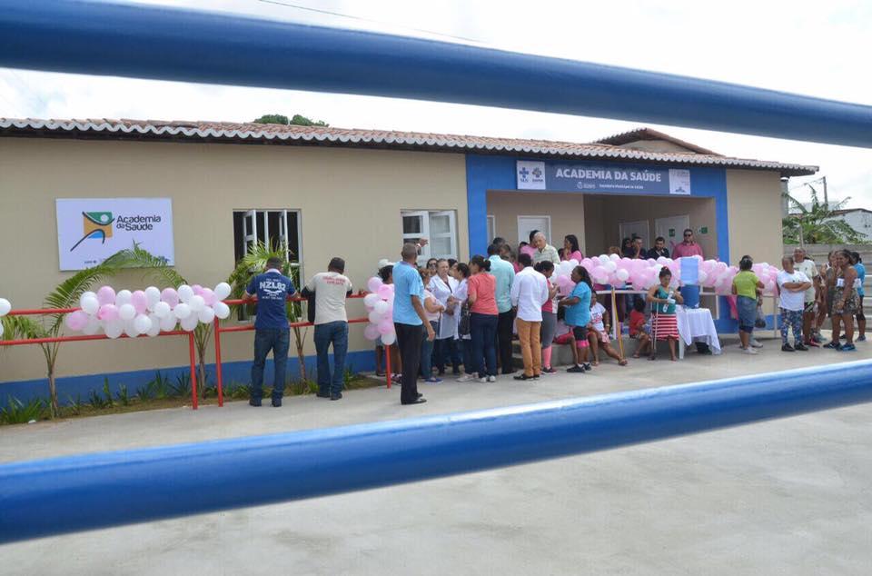 Uma obra por semana: prefeito Paulinho inaugura Academia da Saúde em São Gonçalo
