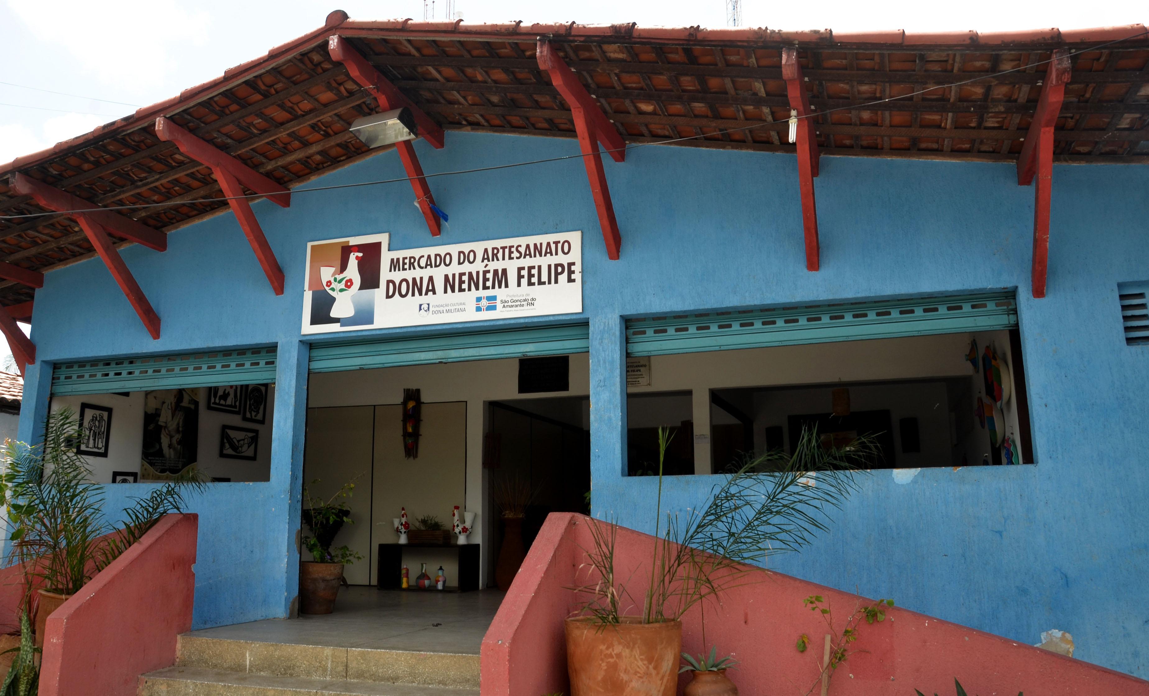 Mercado de Artesanato Dona Neném Felipe: cultura e arte tipicamente são-gonçalense