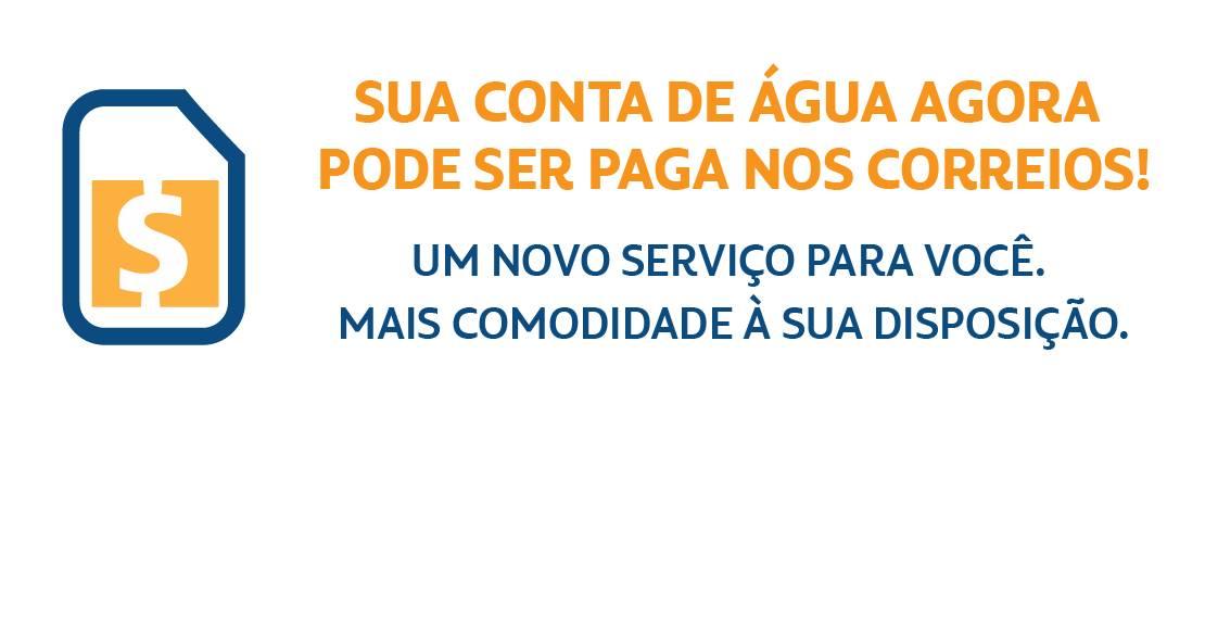 SAAE de São Gonçalo firma parceria com os Correios