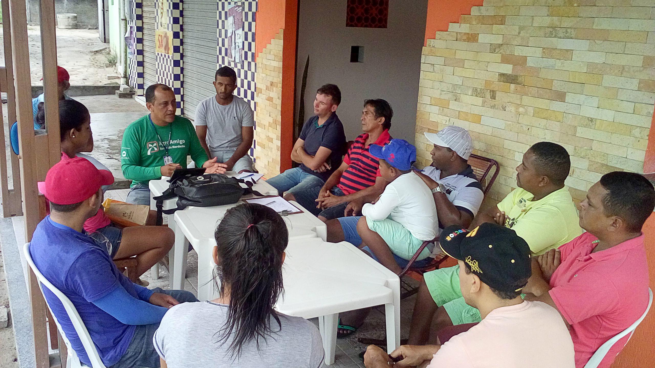 Agricultores de Serrinha recebem orientações sobre o programa Agroamigo