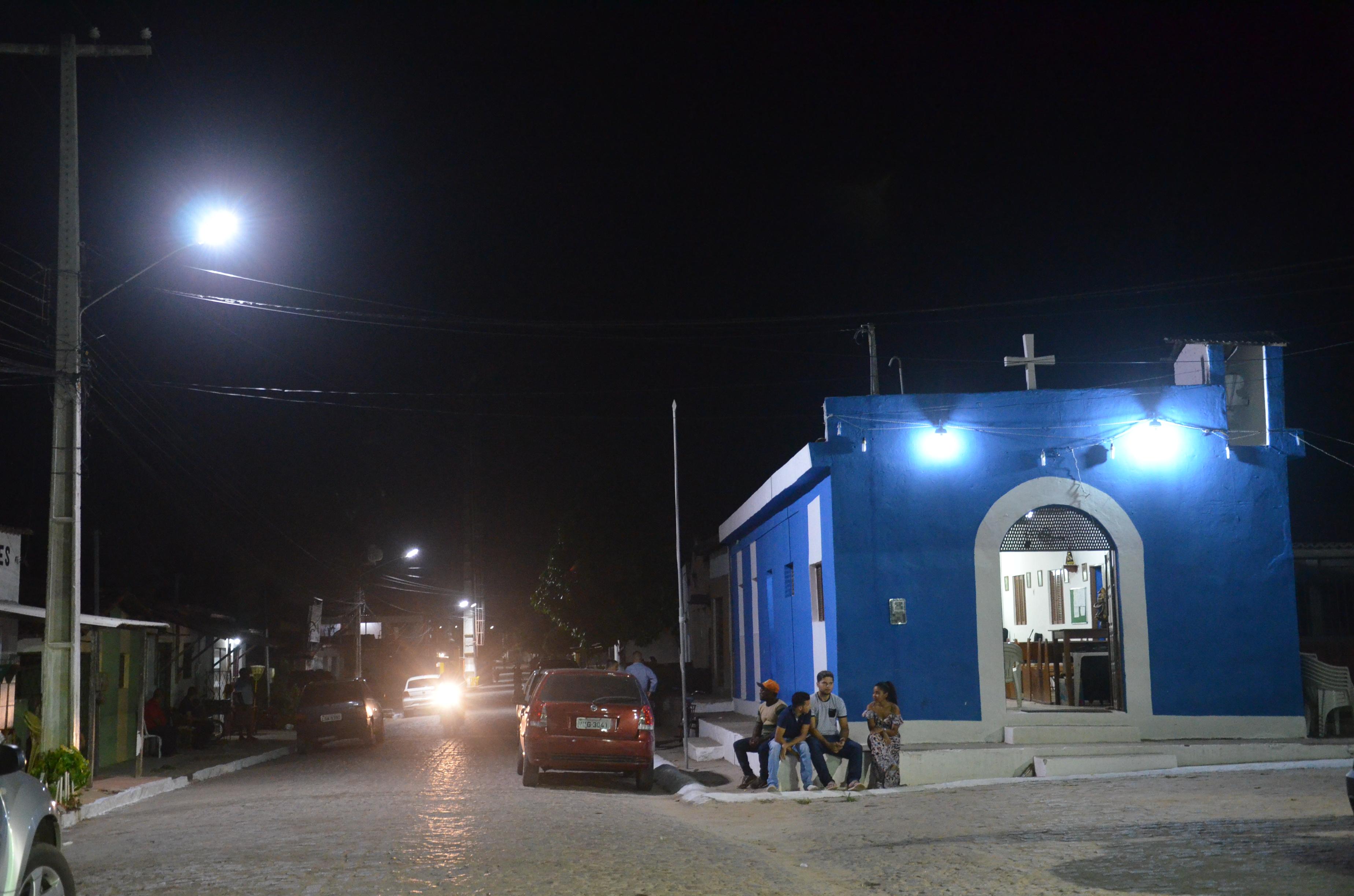 Luz pela Paz: Zona Rural de São Gonçalo recebe iluminação em Led