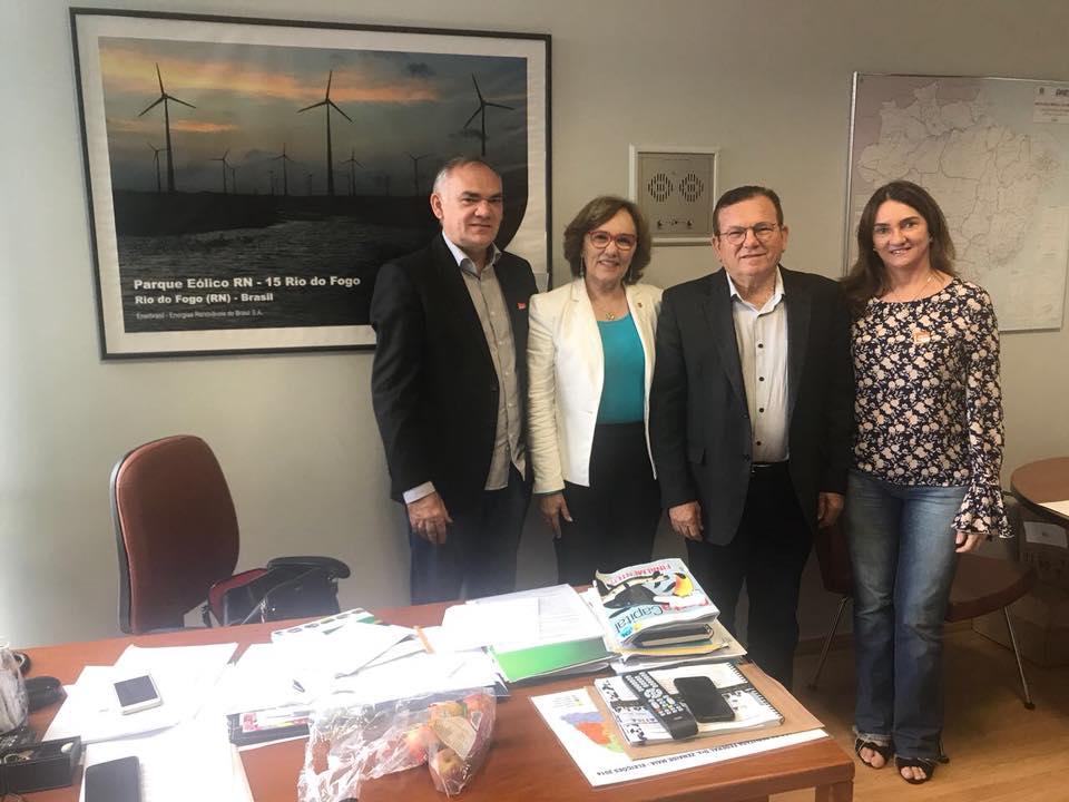Prefeito Paulinho comemora emenda da deputada Zenaide para construção de UBS em São Gonçalo