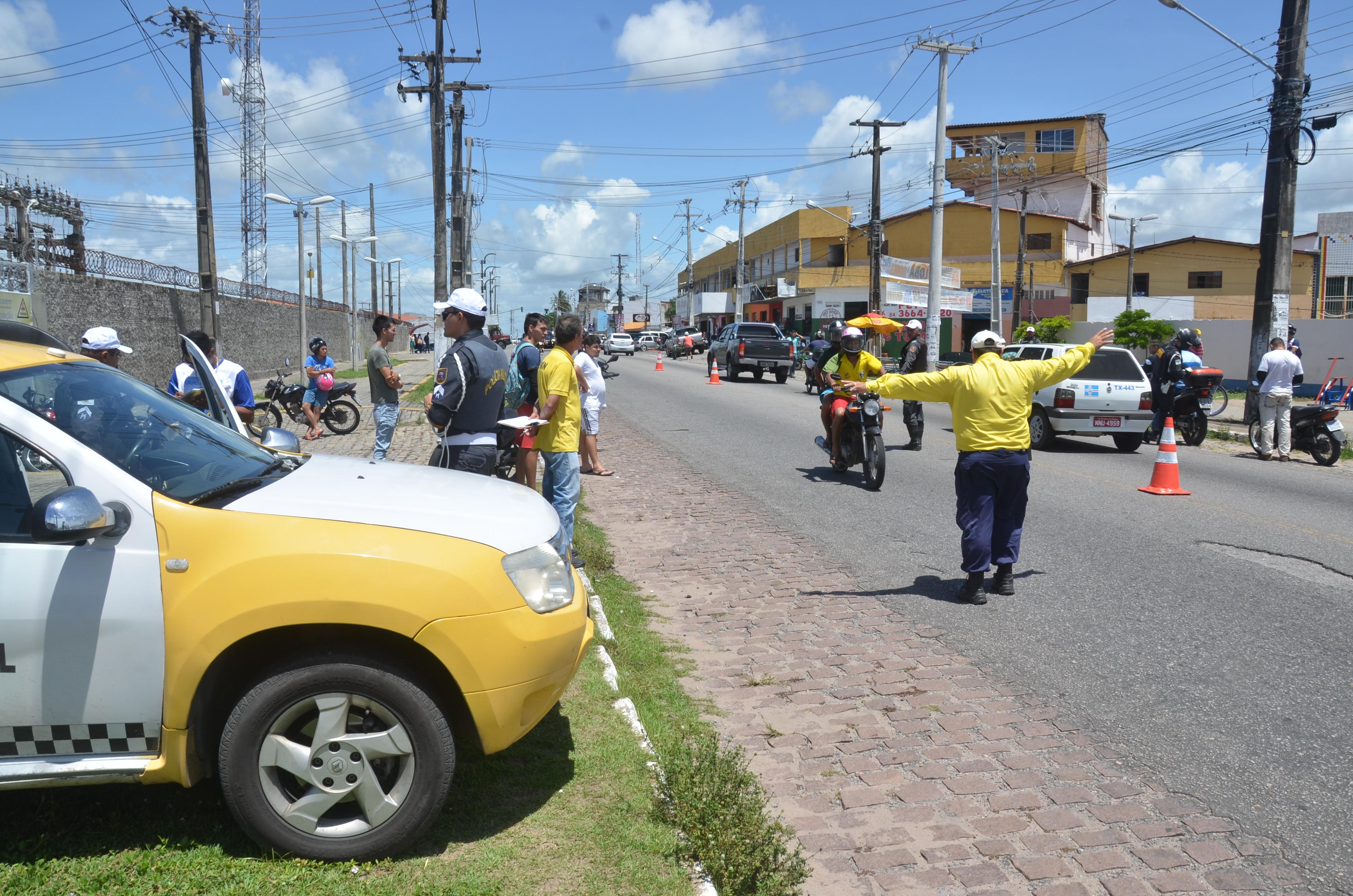 Órgãos de segurança realizam fiscalização em São Gonçalo