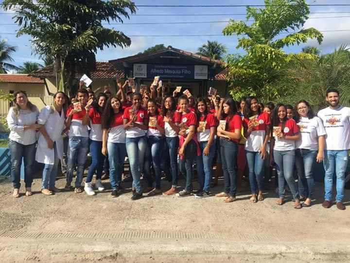 Vacinação: mais de 100 alunos são imunizados em Alagadiço Grande
