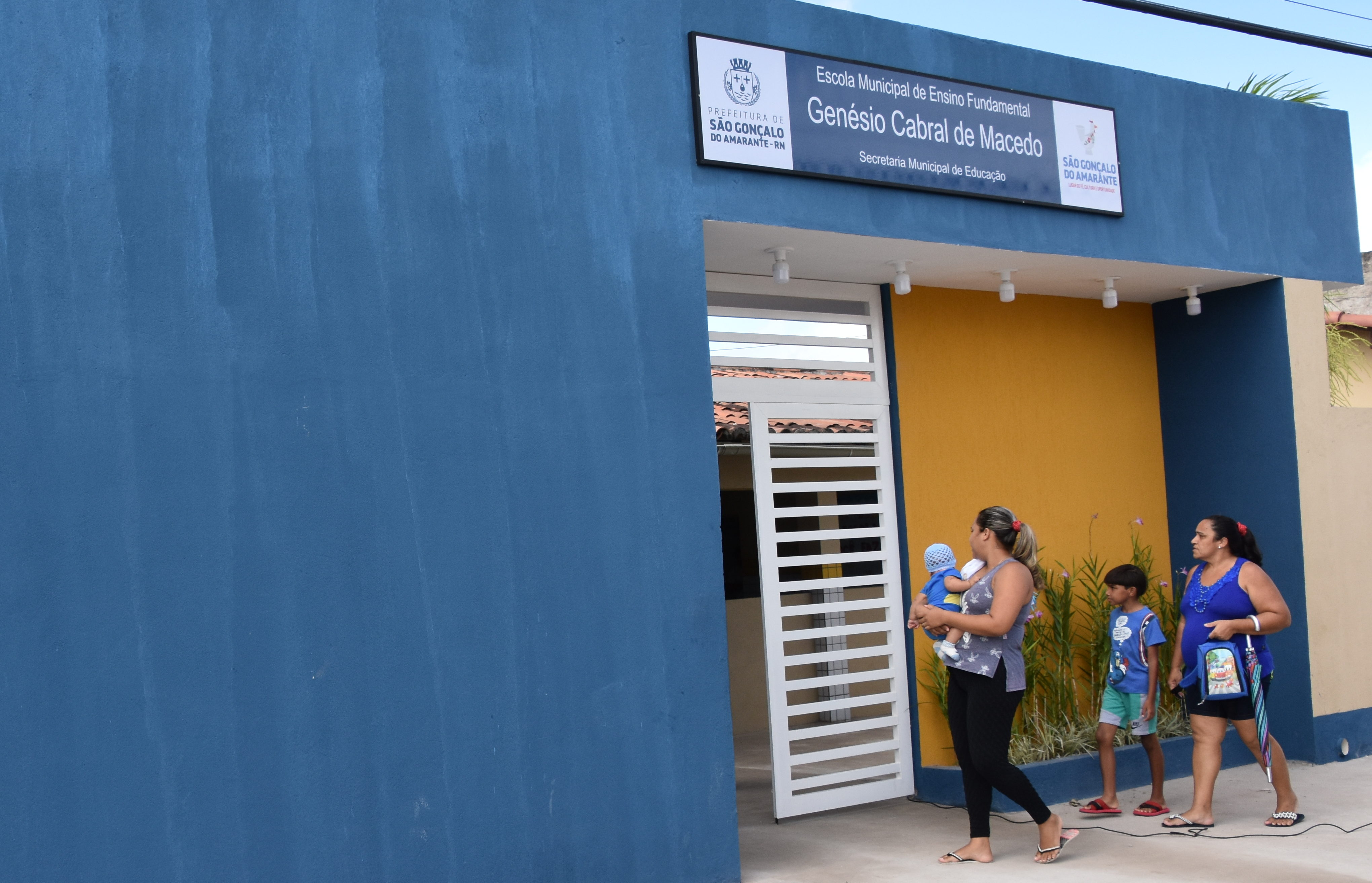 Escola Genésio Cabral é reformada