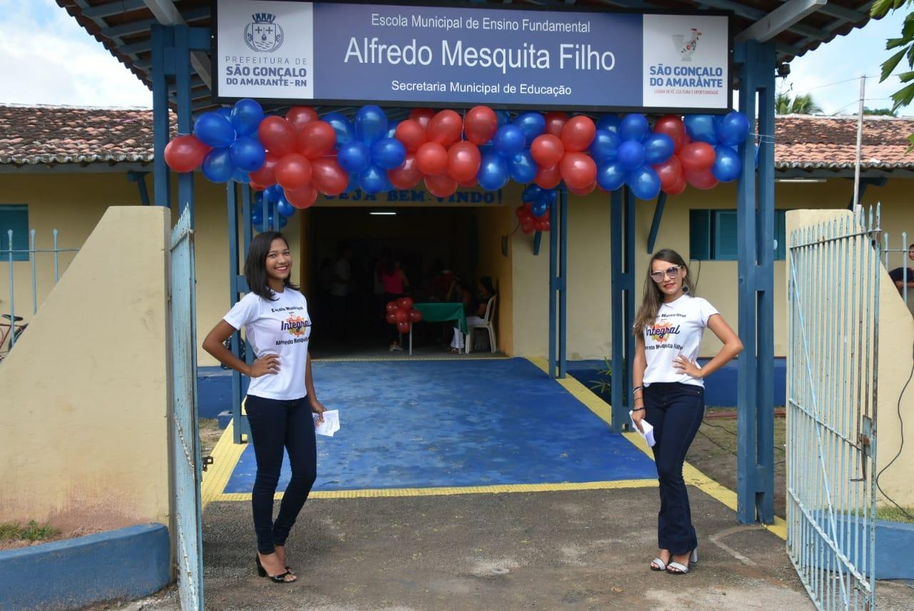 Escola municipal de Alagadiço Grande é reformada e ampliada