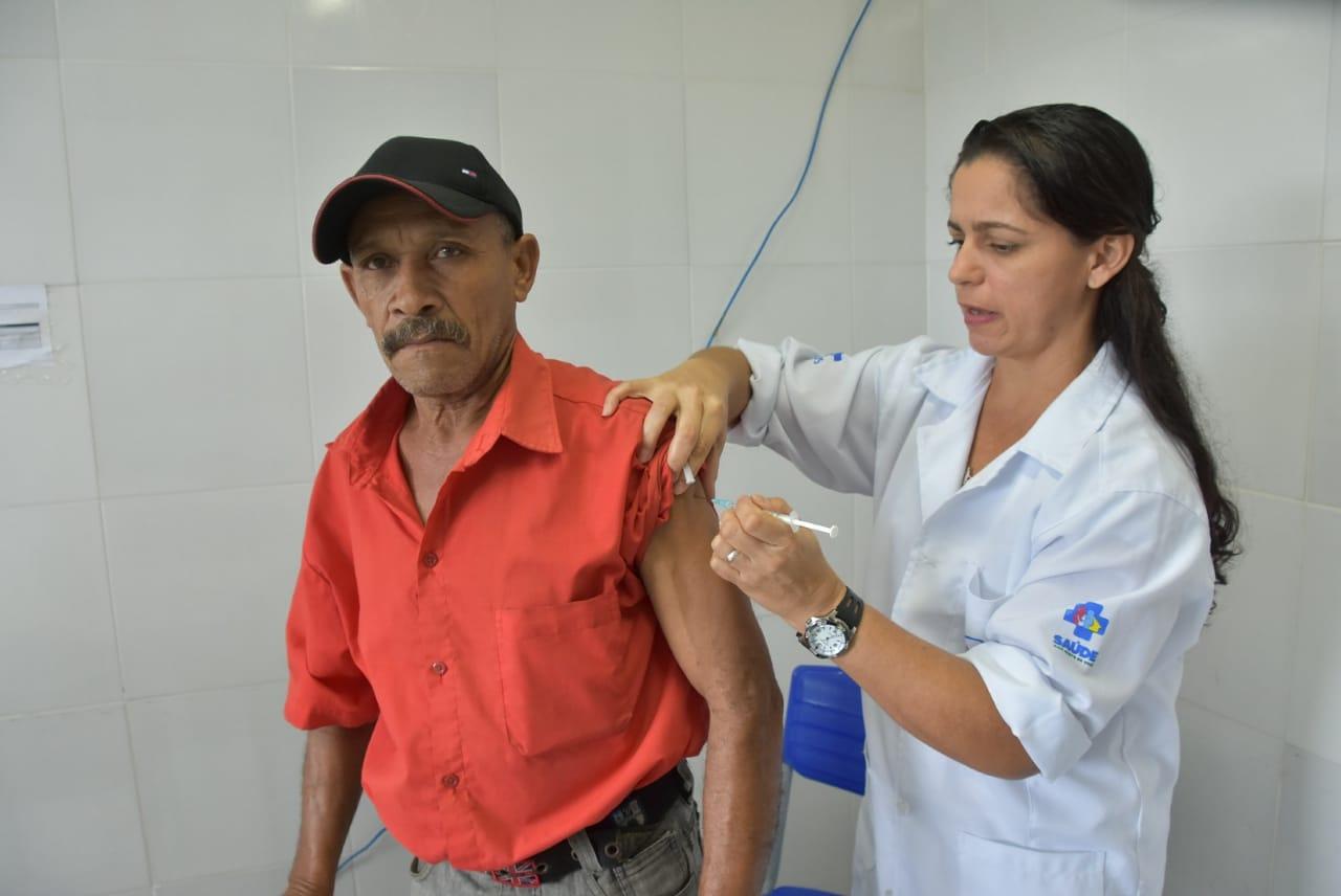 São Gonçalo atinge mais de 62% de pessoas vacinadas contra influenza; A meta é de 90%
