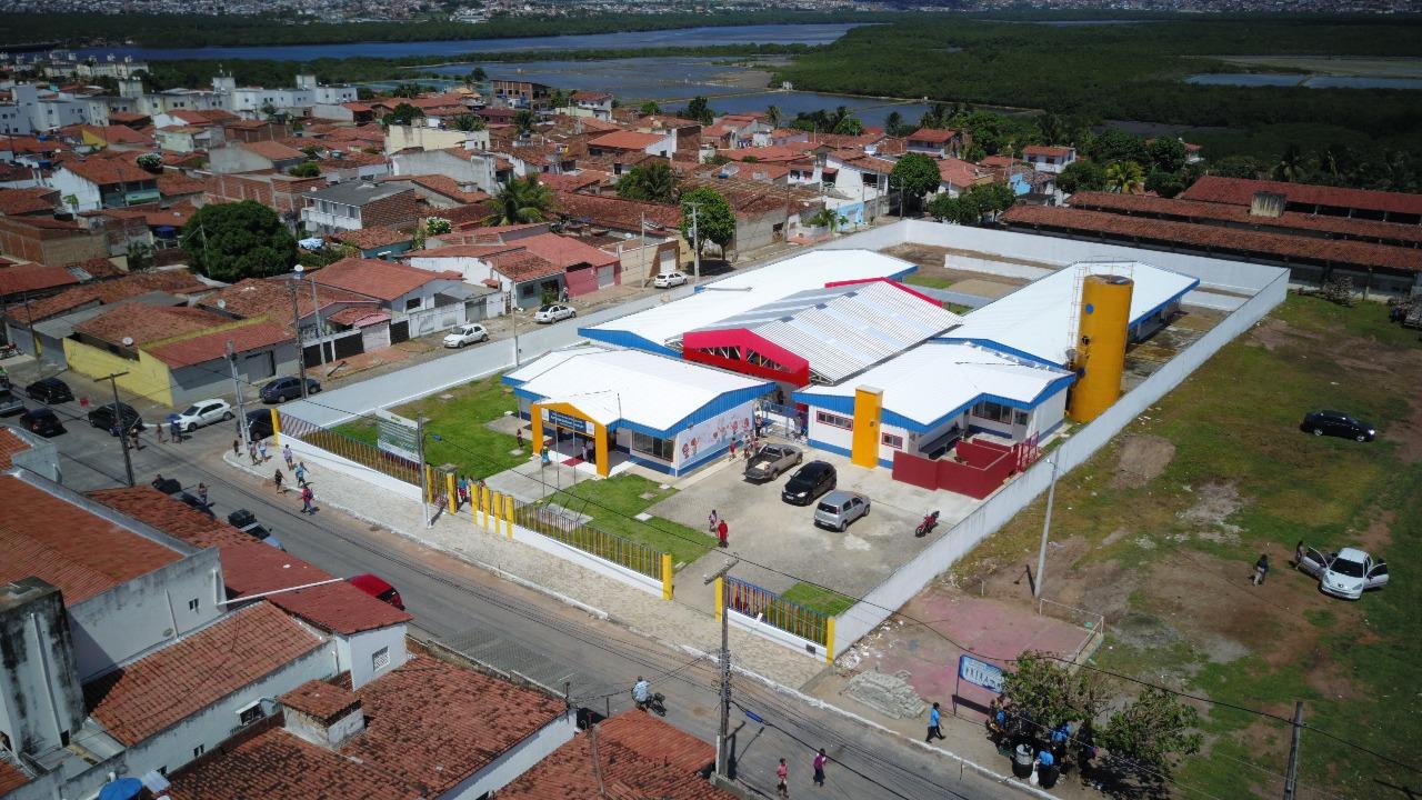CMEI professora Aída dos Santos Conceição é inaugurado no bairro Jardim Lola