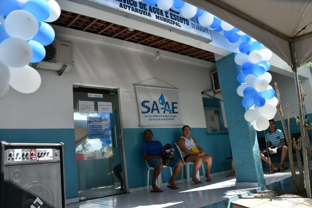 SAAE realiza mutirão para renegociação de débitos