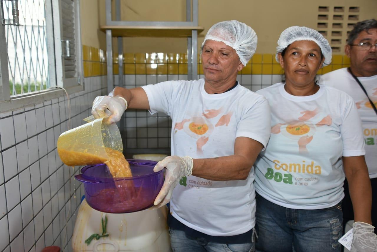"""Programa """"Comida Boa"""" está com inscrições abertas em Barreiros"""
