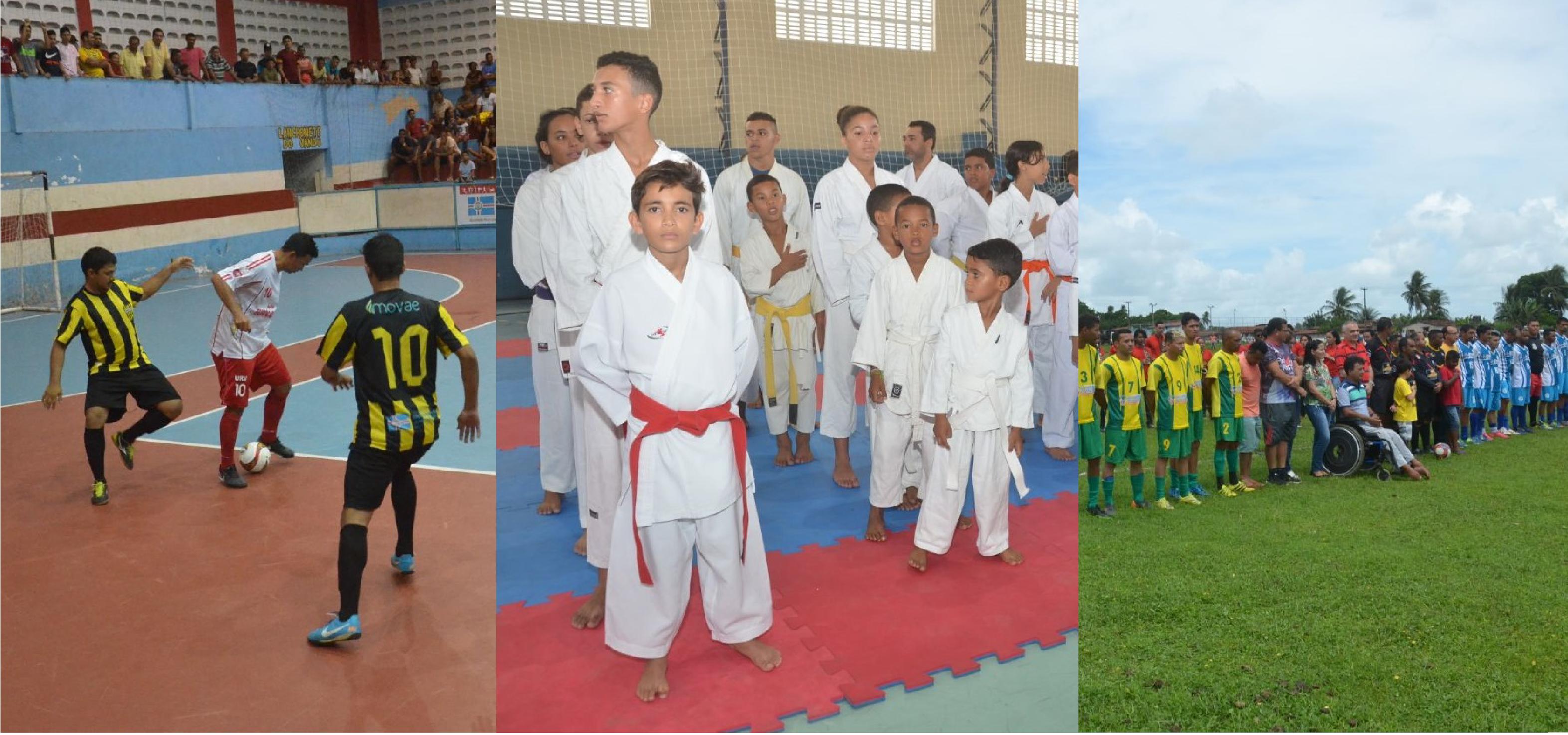 Futsal, karatê e futebol movimentam feriadão em São Gonçalo