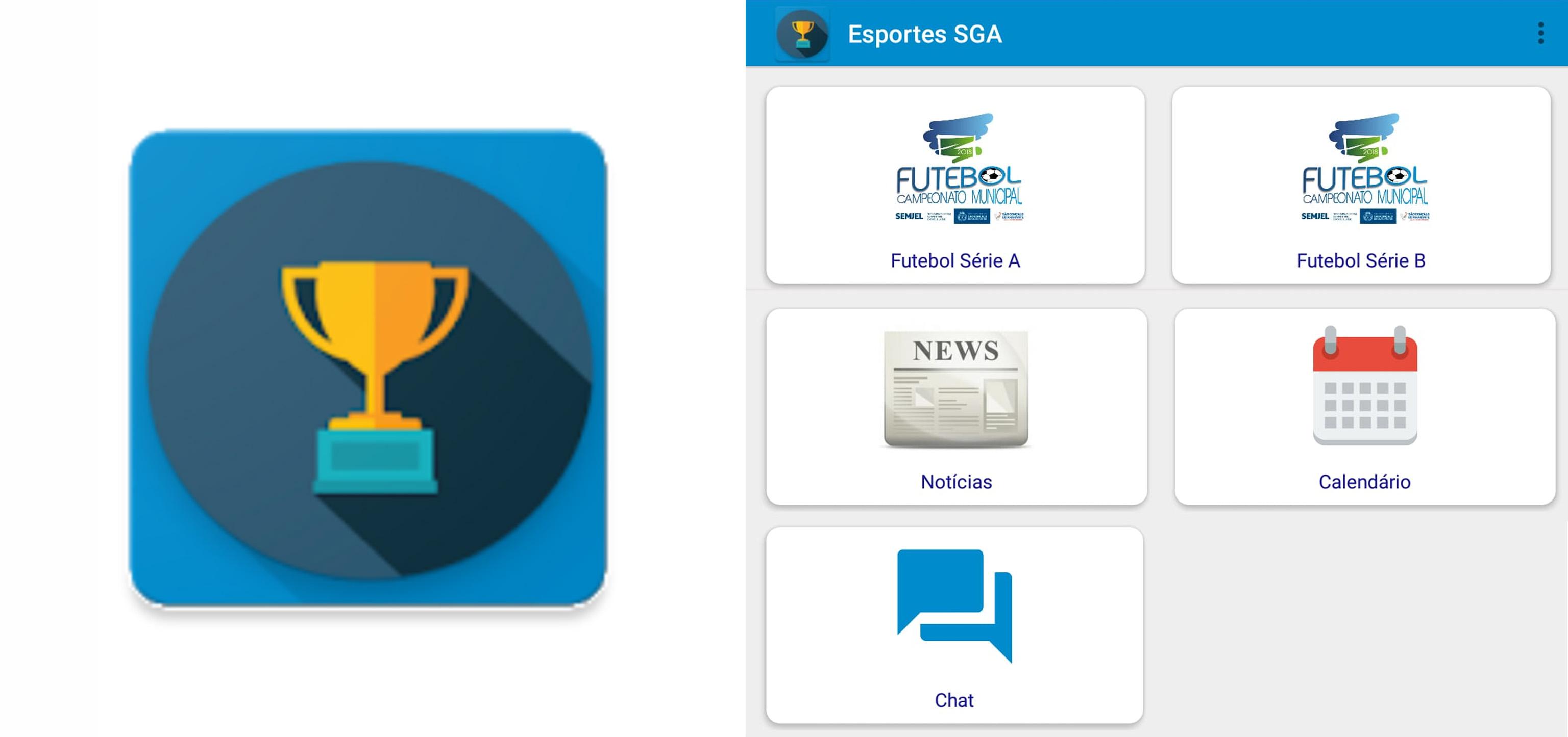 Tecnologia no esporte: Conheça o aplicativo ESPORTES SGA