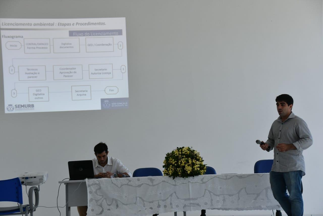 Prefeitura Municipal realiza workshop de licenciamento ambiental e urbanístico
