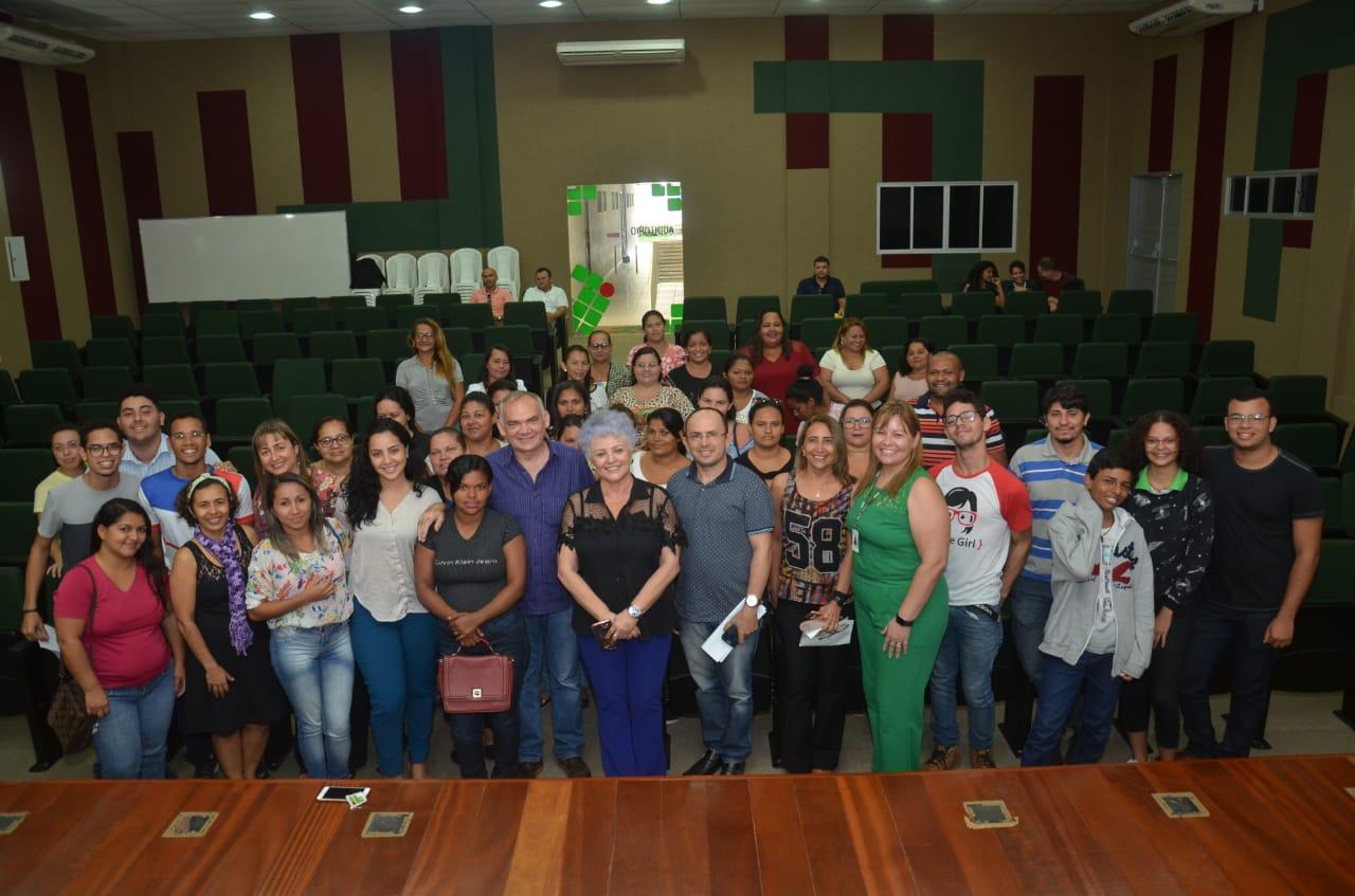 Aula inaugural do programa Mulheres Mil é realizada no IFRN de São Gonçalo