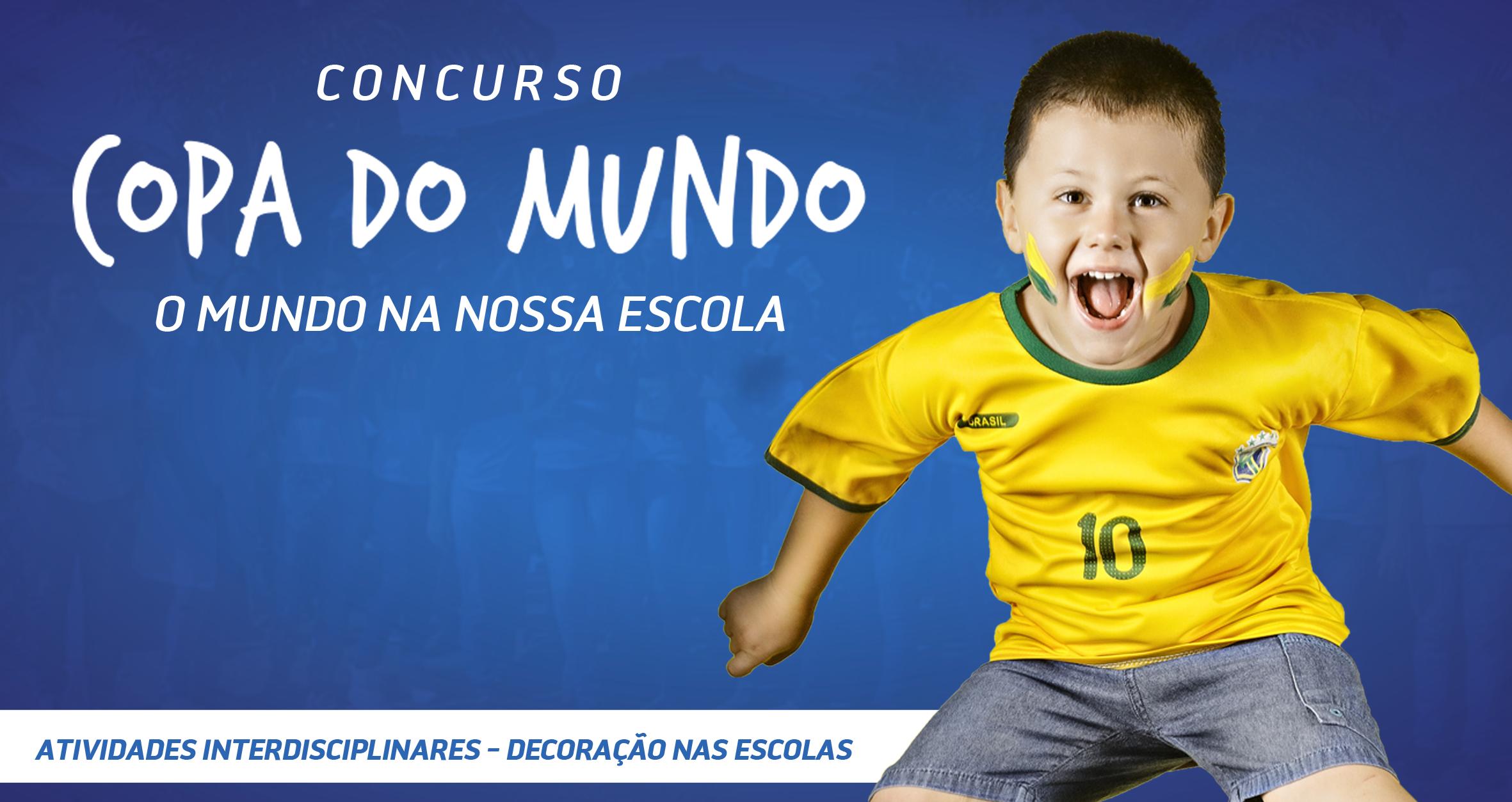 Escolas do município participam de concurso em alusão à Copa do Mundo 2018
