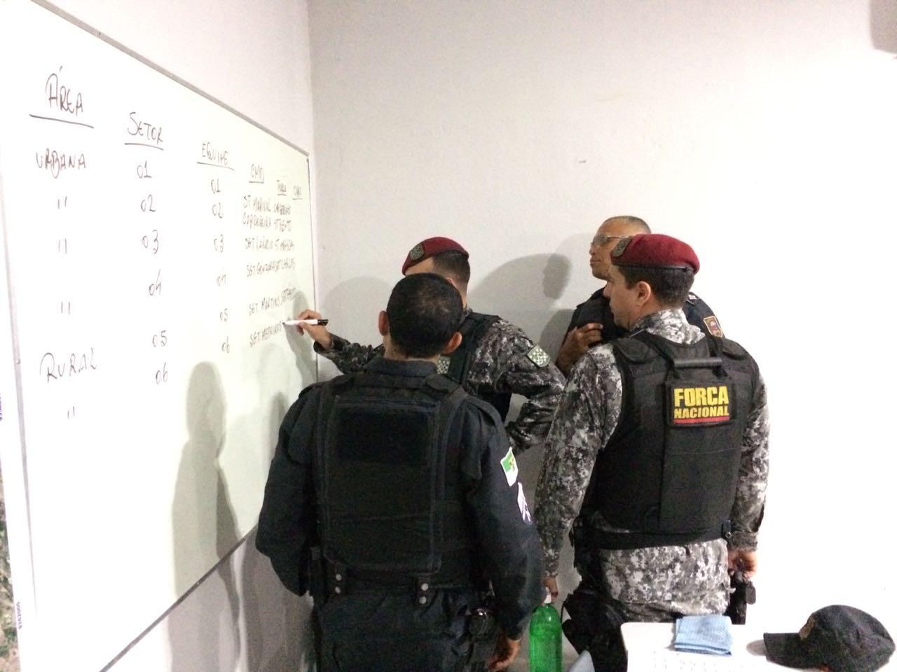 Operação Noite Segura é realizada em São Gonçalo do Amarante