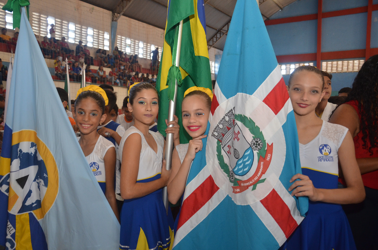Prefeitura realiza abertura das Olimpíadas Escolares 2018