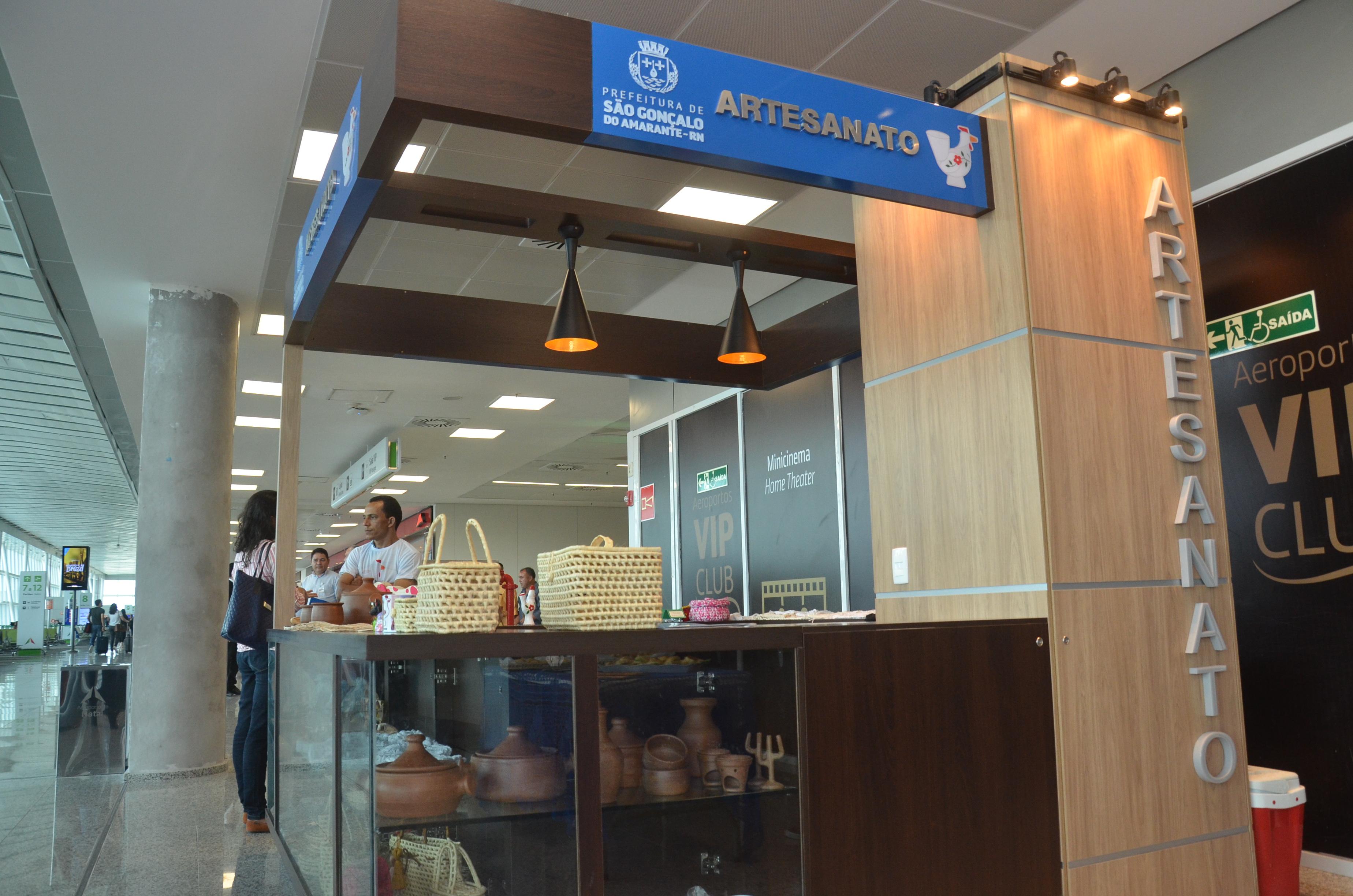 Prefeitura Municipal realiza entrega de quiosque de artesanato no Aeroporto Internacional Aluízio Alves