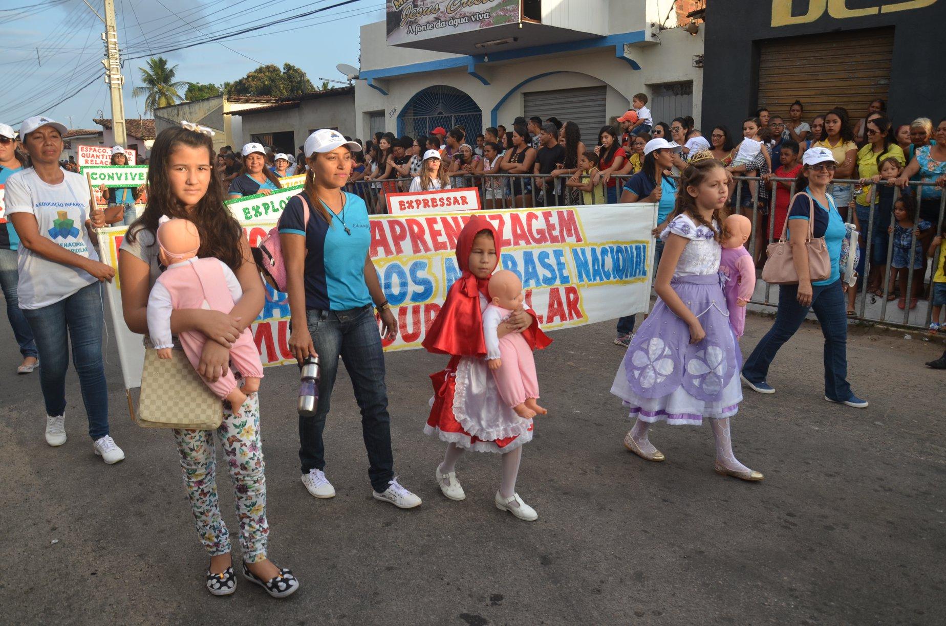 Inclusão social é destaque no Desfile Cívico da Independência