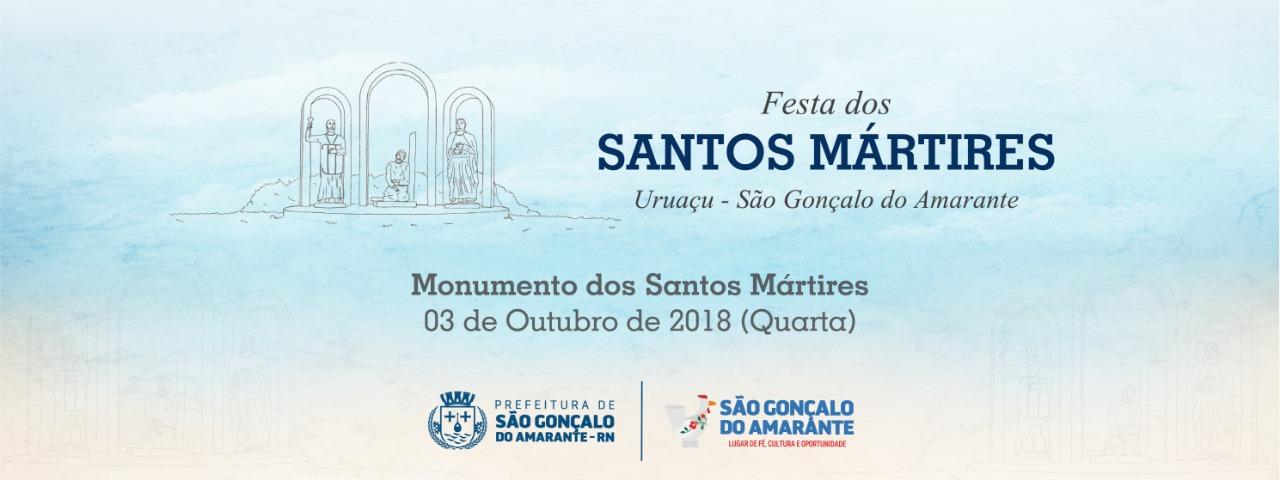 Festa dos Santos Mártires: confira a programação