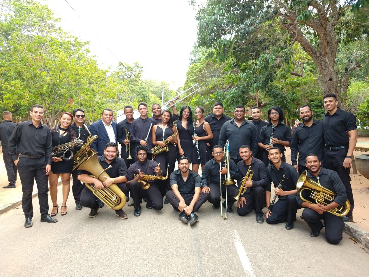 Banda Municipal participa de apresentação na capital potiguar