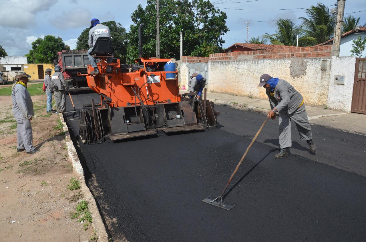 Prefeitura Municipal investiu mais de 11 milhões em pavimentação