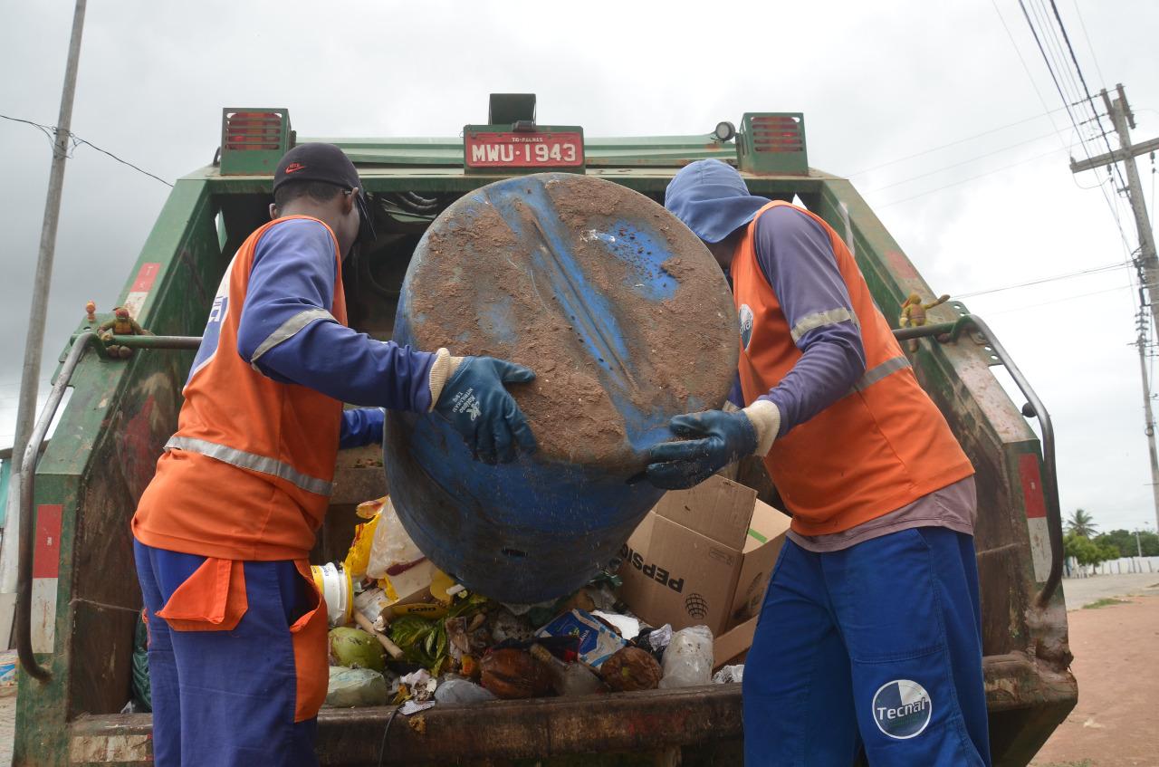 Coleta de lixo é realizada três vezes na semana em todas comunidades
