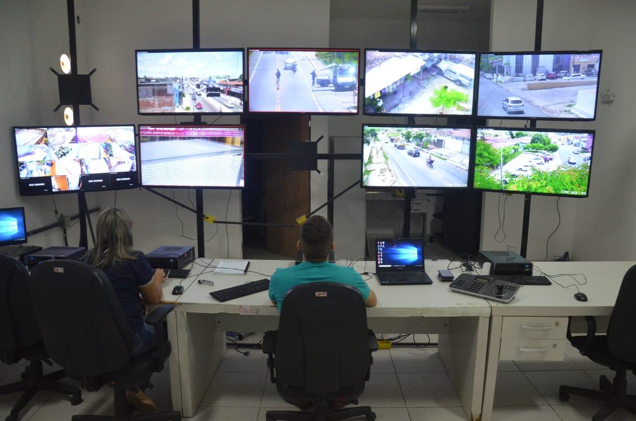 Câmeras da Prefeitura de São Gonçalo ajudam a inibir ação criminosa