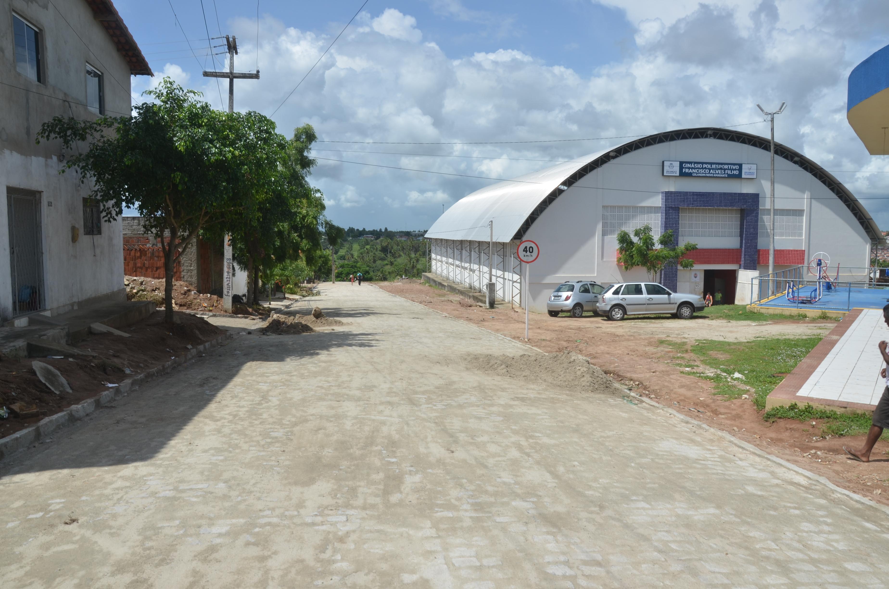 Prefeitura realiza entrega de novas ruas pavimentadas em Novo Amarante