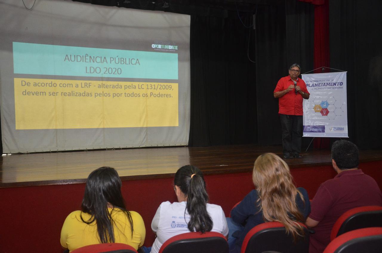 Prefeitura promove Audiência Pública para apresentação da Lei de Diretrizes Orçamentárias