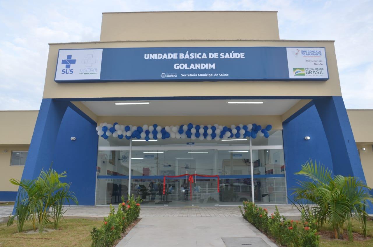 Prefeitura entrega nova UBS e praça pública no bairro Golandim