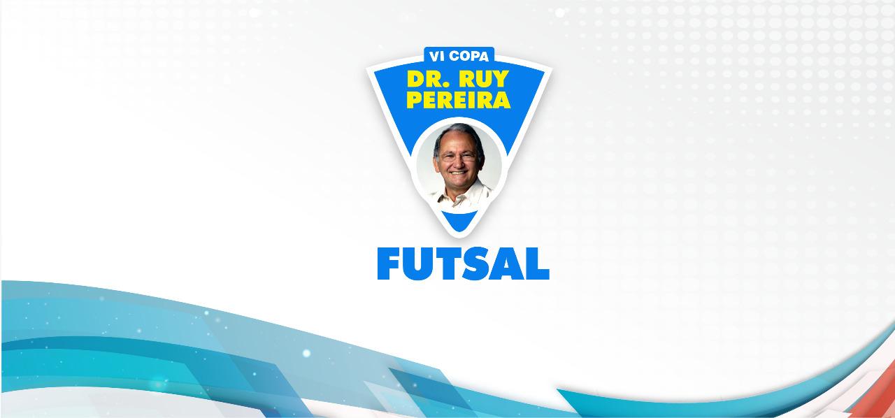 Copa Ruy Pereira de Futsal inicia nesta segunda-feira (22)