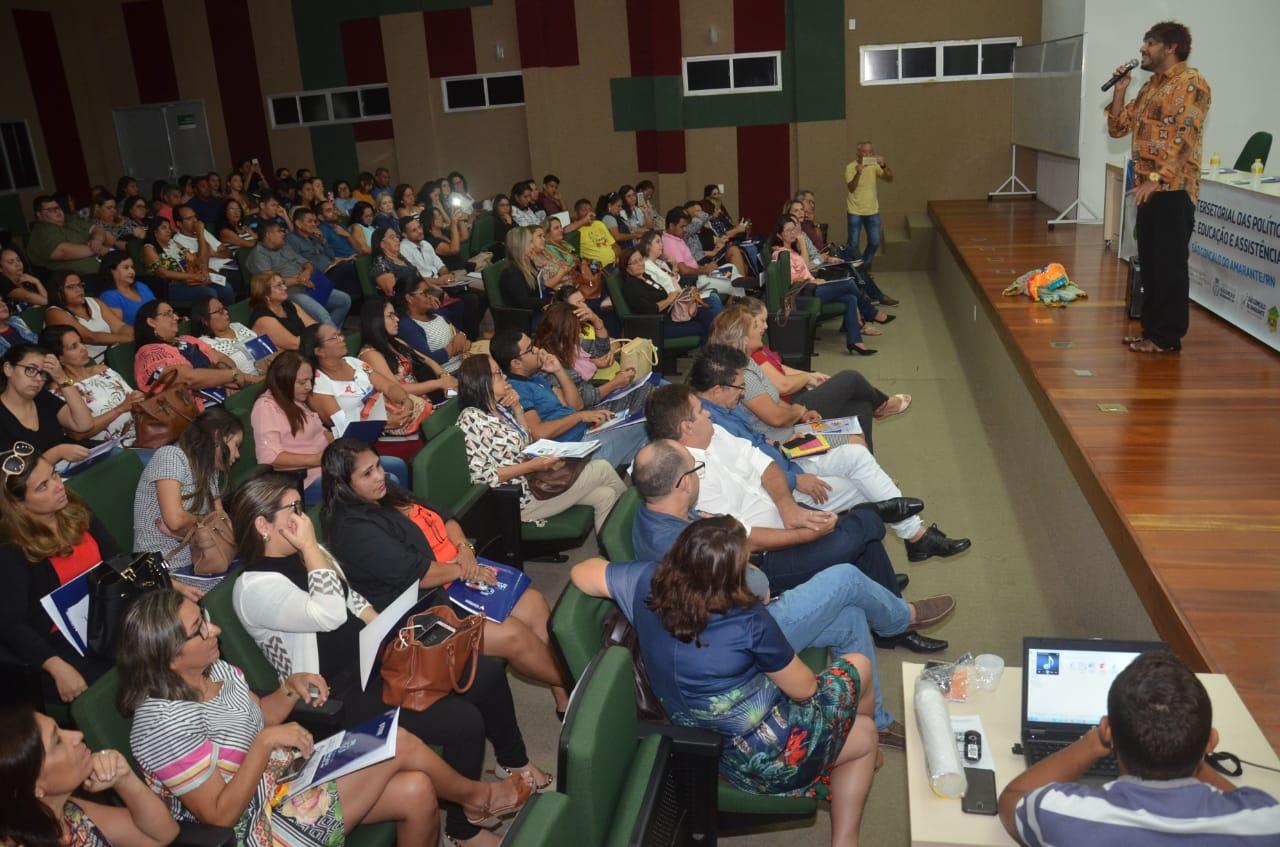 I Encontro Intersetorial das Políticas Públicas de Saúde, Educação e Assistência Social é realizado em São Gonçalo do Amarante