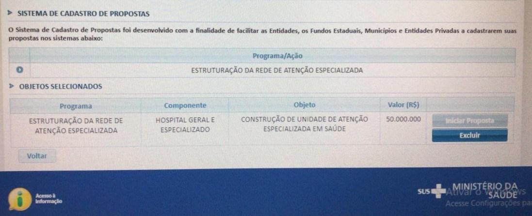 Após solicitação, Ministério da Saúde destina R$ 50 milhões para construção de hospital em São Gonçalo