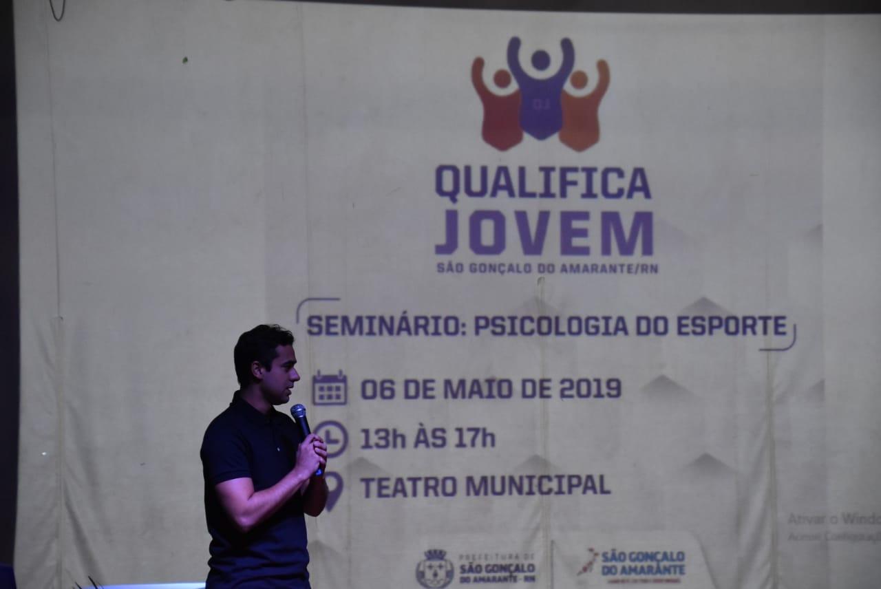 Qualifica Jovem é lançado em São Gonçalo do Amarante