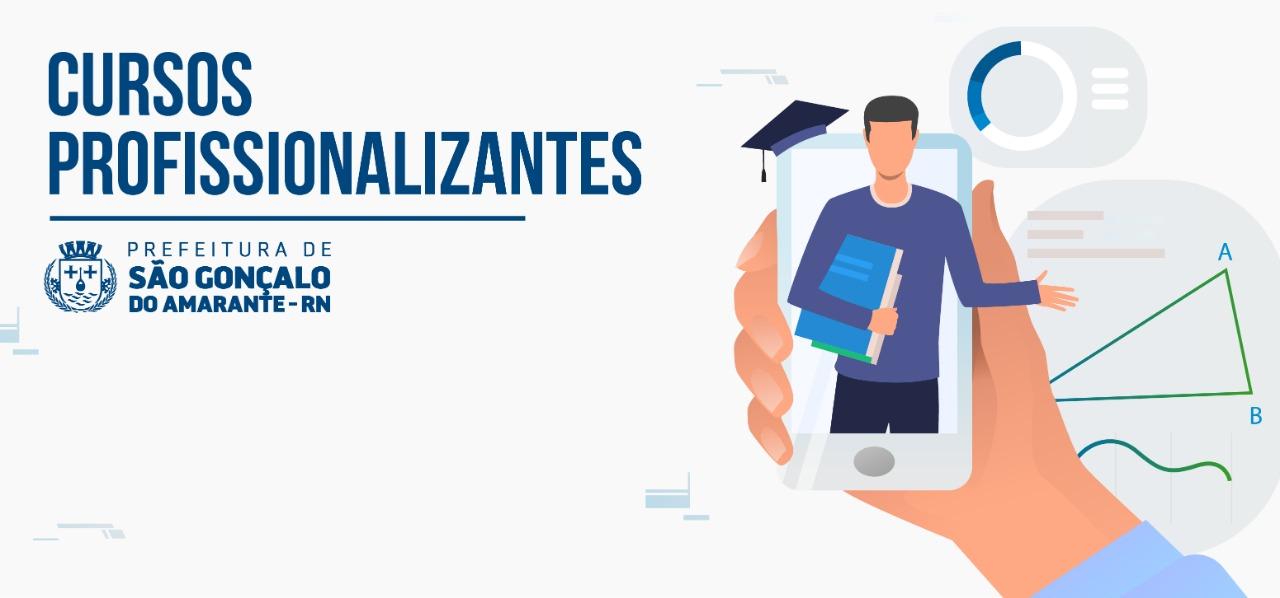 Prefeitura de São Gonçalo disponibiliza mais 80 vagas para cursos profissionalizantes