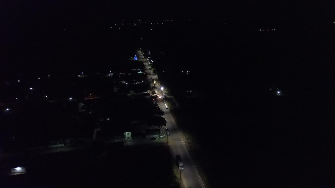 Luz pela Paz: Prefeitura de São Gonçalo entrega iluminação de LED em Maçaranduba