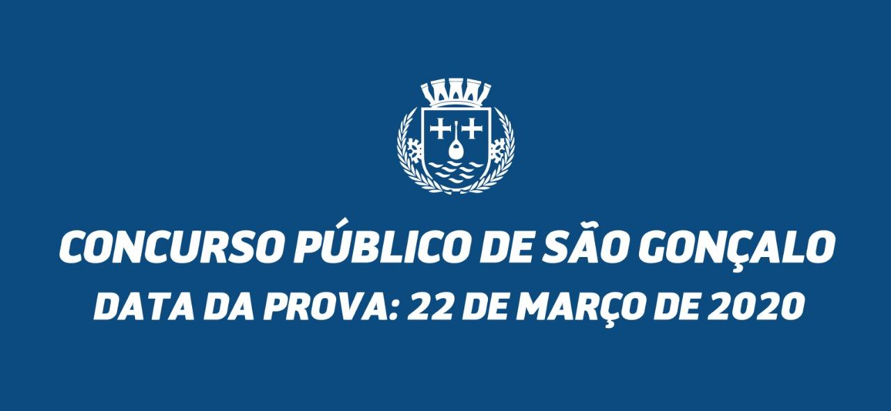 Concurso público: prova acontece no dia 22 de março com duração de 3h