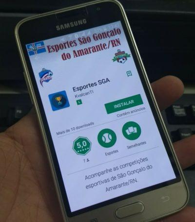 INOVAÇÃO: Competições de São Gonçalo podem ser acompanhadas por smartphone