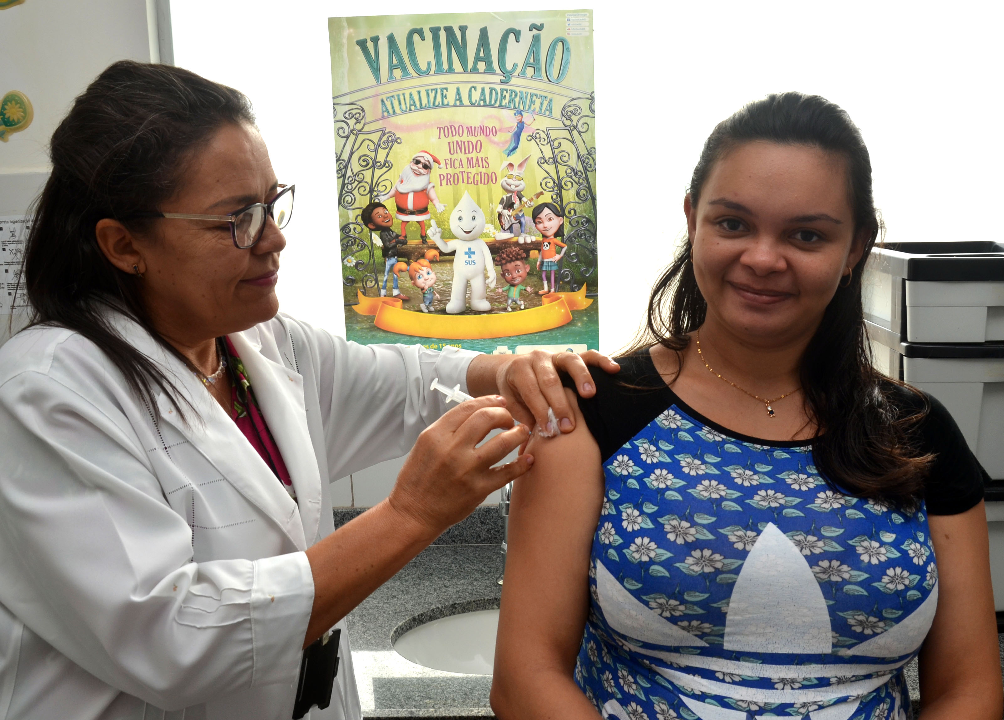 Saúde: São Gonçalo atinge meta de vacinação contra influenza