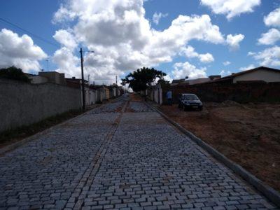 Prefeitura investe mais de 1,6 milhão em obras de pavimentação