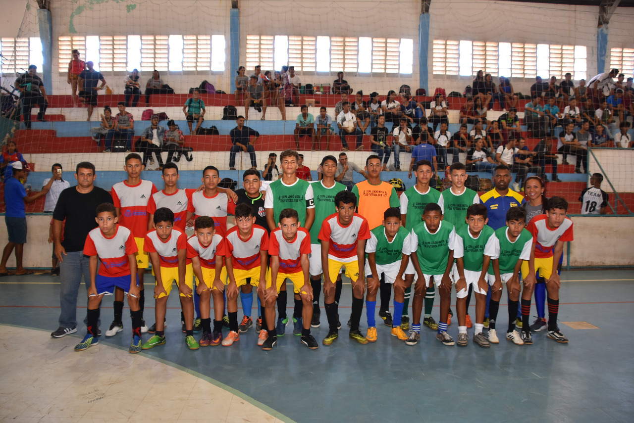 Finais do futsal nas Olimpíadas Escolares 2018 movimentam ginásio Aildo Mendes