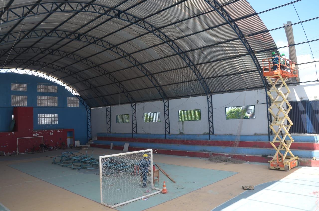 Ginásios e quadras de esportes são reformados em São Gonçalo