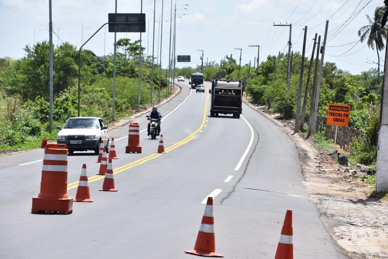 Obra de reconstrução da RN 160 é inaugurada nesta quarta-feira (26)