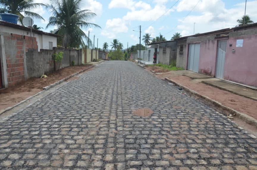 Prefeitura entrega obras de pavimentação no Loteamento Horizonte
