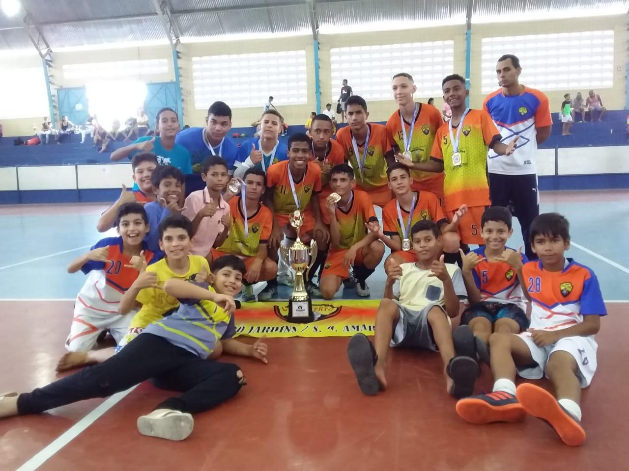 Futsal: Finais das categorias foram realizadas no domingo (10)